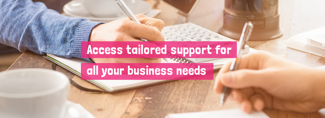 Business Support Header Image